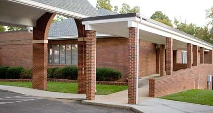 Bethel Church | Midland, NC Education Building Front Entry